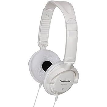 Panasonic RP-DJS200E-W Stylish Street Style Headphones - White