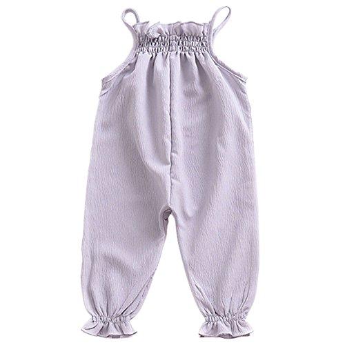 Snap-pocket-hose (Haodasi Sommer Baby Mädchen Elastisch Spitze Straps Stramplers Kleinkind Säugling Ärmellos Overalls Ein Stück Bodysuit Hose Kleidung)