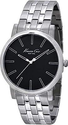 Kenneth Cole Reloj analogico para Hombre de Cuarzo con Correa en Acero Inoxidable IKC9231 de Kenneth Cole