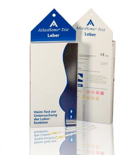 AtlasHome Test Leber (Schnelltest Leberfunktion)