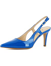 Suchergebnis auf Amazon.de für  Lack Sling Pumps - Damen   Schuhe ... 87d0b62e29