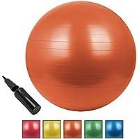 BB Sport Gymnastikball in Vielen Farben und Größen Sitzball mit Ballpumpe Pezziball in Den Maßen 55 65 75 85 cm