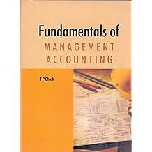 Fundamentals of Management Accounting