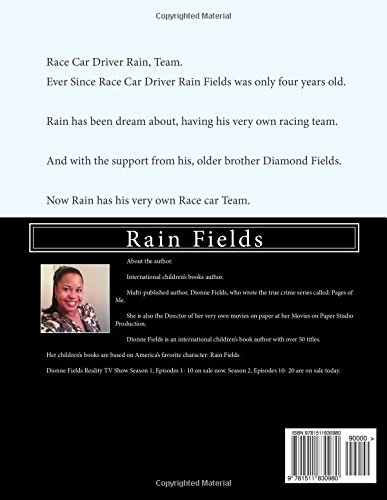Race Car Driver Rain Team: Volume 3