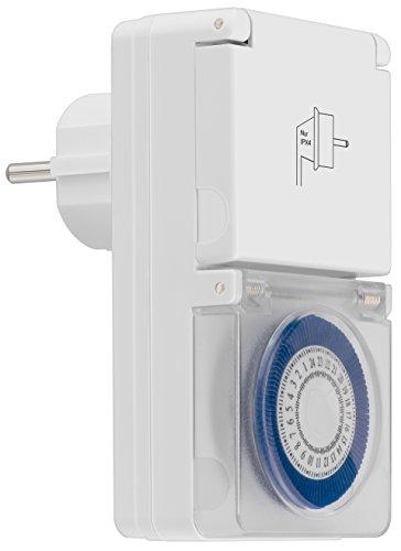 mumbi, timer esterno meccanico 3500W, 96 segmenti di commutazione, facile funzionamento, IP44, testato GS