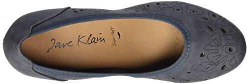 Jane Klain 223 740, Chaussures à talons - Avant du pieds couvert femme Bleu jean