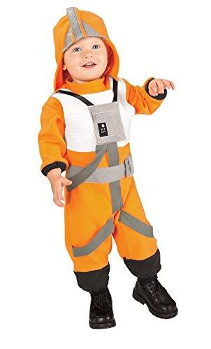 X-Wing Pilot Kinderkostüm aus Star Wars, (Wing Wars Star Kostüme Pilot X)