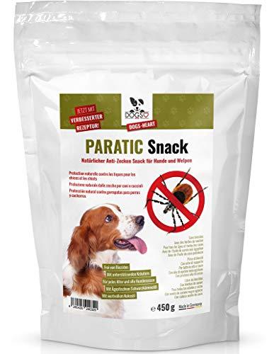 Dogs-Heart Anti-Zecken Snack für Hunde mit Schwarzkümmelöl - DAS ORIGINAL! Natürlicher Zeckenschutz für Hunde - auch für Welpen! (450 g)