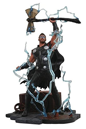 Diamond Select Toys APR182164 Marvel Gallery Avengers Infinity War Thor PVC-Figur, 23 cm - Action Thor Figur