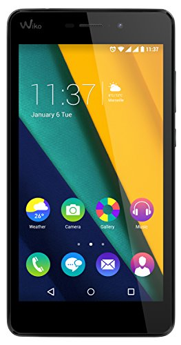 Preisvergleich Produktbild Wiko Pulp Fab 4G LTE Smartphone (13, 9 cm (5, 5 Zoll) HD IPS-Display,  1, 2 GHz Quad-Core-Prozessor,  16GB Interner Speicher,  2GB RAM,  Android 5.1 Lollipop) Rot
