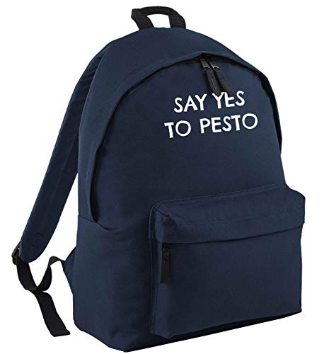 Flox Creative Navy Backpack Say Yes to Pesto