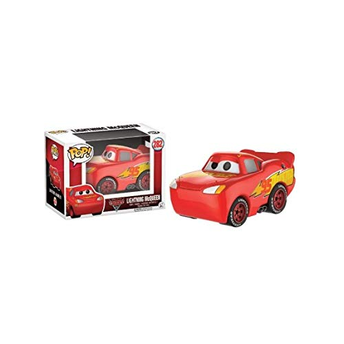 Funko – Disney Cars 3 3 Figura Lightning Mcqueen Chromed, 13044