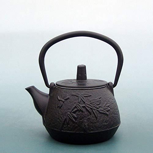 Théière En Fonte Théières Pot Pin Théière En Fer Xiaozhu Kyoto Pot En Fer Non Recouverte Vieux Pot En Fer Théière Thé Personnalisé Thé Théière 400 Ml