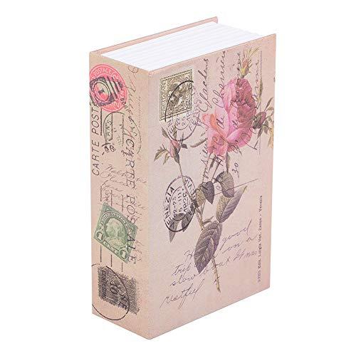 Caja fuerte creativa del libro, armario de almacenamiento privado de los objetos de valor de la joyería...