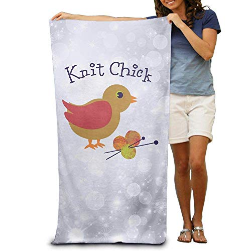 xcvgcxcvasda Badetuch, Soft, Quick Dry, Badetuch, Soft, Quick Dry, Knit Chick Thick Large Swim Beach Towels