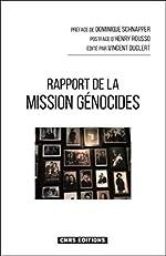 Rapport de la mission Génocides de Vincent Duclert