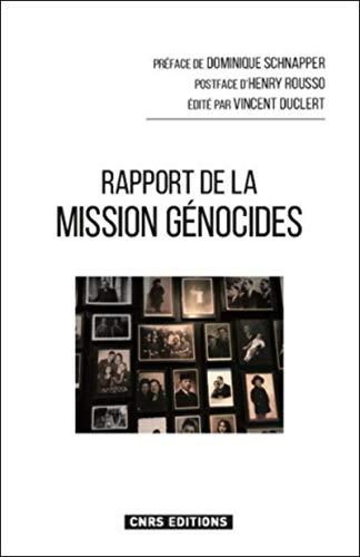 Rapport de la mission Génocides par Vincent Duclert