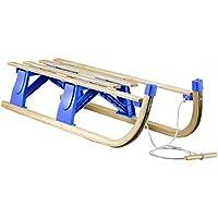 Alpenflitzer Davoser Rodel 100cm Faltbarer Klappbarer Schlitten Klappschlitten