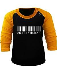 bc7ca0c4d Amazon.es  Camiseta negra bebe - Partes de arriba   Niños de hasta ...