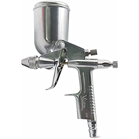 Valuetom aire spray pulverizador de pistola de spray de pintura aerógrafo Kit Herramienta de pintura profesional 0,5mm boquilla para pared y coche