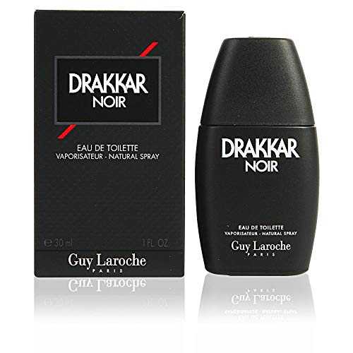 Guy Laroche Drakkar Noir Men 200 ml EDT Spray, 1er Pack (1 x 200 ml)