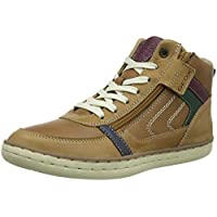 Geox Jr Garcia Boy B Hi-Top Trainers