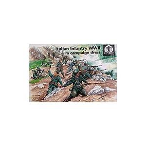 Waterloo 1815ap040-Figuras Italian Infantry WWII en Campaign Dress
