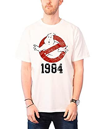 Ghostbusters 1984 T-Shirt (White) Official Store T-Shirt