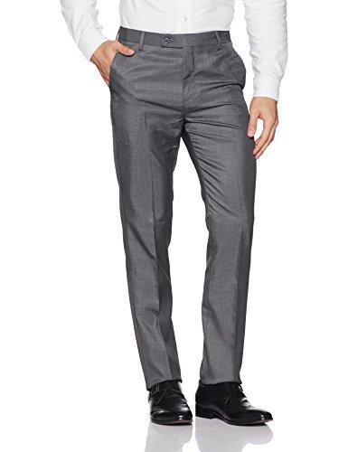 Arrow Men's Formal Trousers (8907538370075_ATTF2094_38W X 34L_Grey Melange)