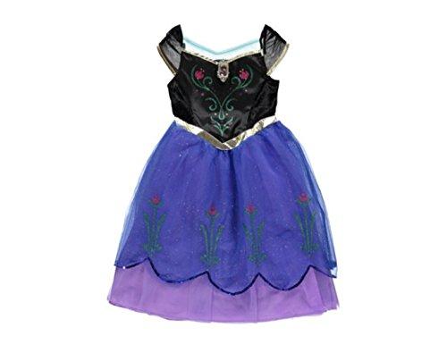Imagen de george  disfraz de ana de frozen para niñas entre 7 8 años alternativa