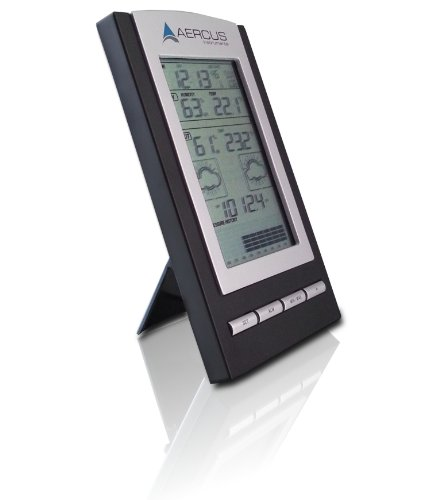 Aercus Instruments WS1173 Desktop Weather Station Wireless + Free Beginner's Guide (eBook)