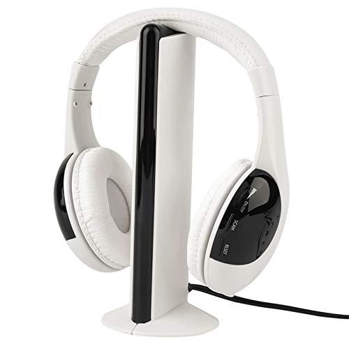XuBa 5 in 1 cuffia senza fili RF senza fili microfono per PC TV DVD CD d8cc672f3460