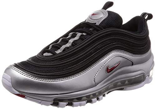 sneakers for cheap e8f23 bdbfc NIKE Air Max 97 QS Sneaker (EU 43 UK 8.5, Black Varsity Red
