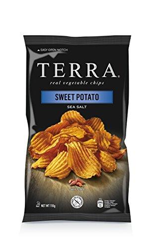 Preisvergleich Produktbild Terra Sweet Potato Crincle Sea Salt,  4er Pack (4x110g)