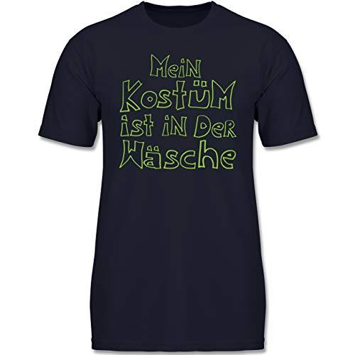 Karneval & Fasching Kinder - Mein Kostüm ist in der Wäsche - 152 (12-13 Jahre) - Dunkelblau - F130K - Jungen Kinder T-Shirt