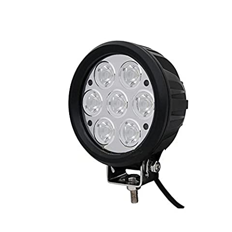 PENG Car led lights 6-inch 70W round car LED work lights / roof lights off-road vehicles / long-term light installation of auxiliary