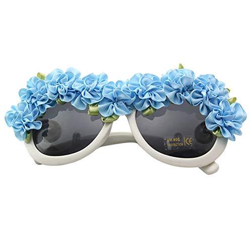 (iSpchen Party Brille Kunststoff Neon Sonnenbrille UV Schutz Neuheit Partei Liefert Strand Urlaub Reise Outdoor Hochzeit Schwimmen Kostüm Dekoration Männer Frauen Blau)
