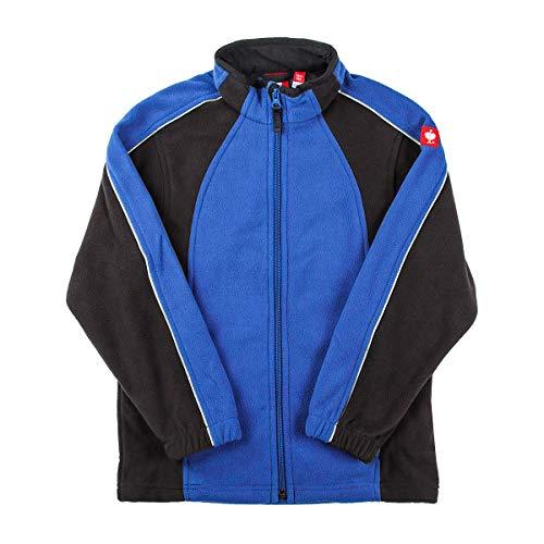 Engelbert Strauss E.S. Kinder Microfleece Jacke dryplexx® Micro (blau/schwarz, 122/128)