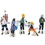 EASTVAPS 5pcs/lot Figurine Naruto Kakashi Sasuke Anime Autour de 32 générations