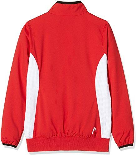 Head Club Jacket Torso abbigliamento rosso