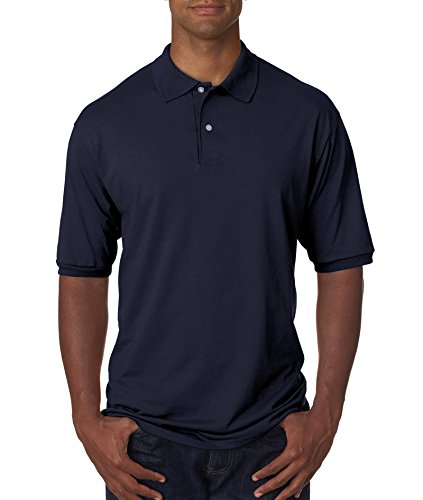 Hockey Symbol auf American Apparel Fine Jersey Shirt Vintage Navy