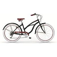 MBM Honolulu Cruiser Femme vélo, diamètre des roues 66,04cm (26)