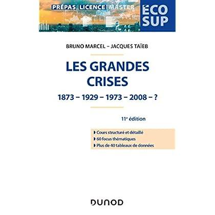 Les grandes crises - 11e éd. - 1873-1929-1973-2008- ?