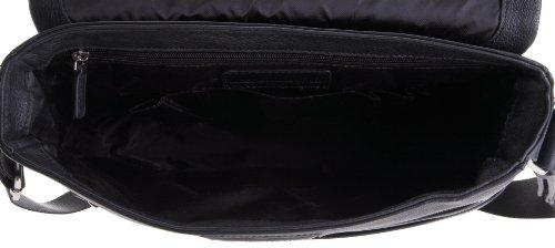 Schultertasche Heyden Leonhard Crossbody schwarz Unisex Berlin 6602 Erwachsene schwarz 001 groß 10fg7q
