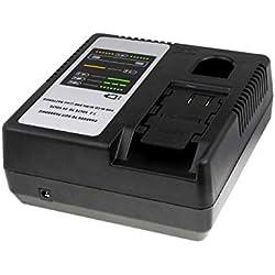 Powery Chargeur pour Batterie Panasonic perceuse visseuse a Percussion EY6950GQKW, 7,2V-24V [ Chargeurs pour Outil électroportatif ]