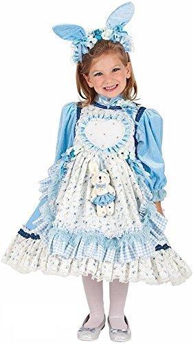 Fancy Me Italienische Herstellung Deluxe Mädchen Alice im Wunderland Welttag des buches-Tage-Woche Halloween Karneval Kostüm Kleid Outfit 4 bis 10 Jahre - 7 - Kind Deluxe Alice Im Wunderland Kostüm