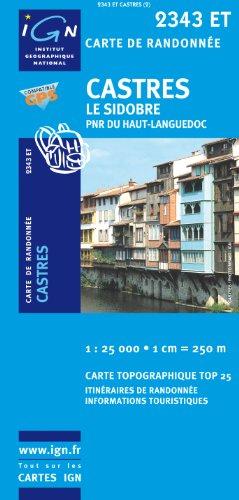 Castres/Le Sidobre/PNR du Haut-Languedoc GPS: IGN.2343ET