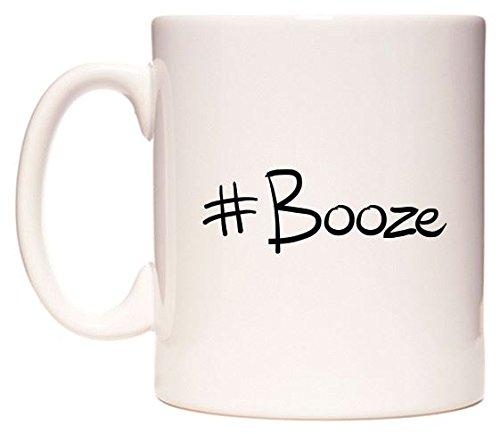 #Booze Becher von WeDoMugs