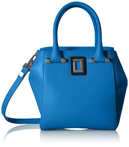 LUANA ITALY Damen Handtasche mit oberen Griff, Curacao, Einheitsgröße - Curacao Slip