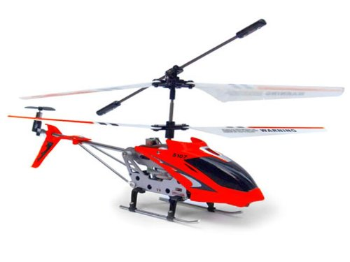 Syma-S107G Helicopter with gyroscope, Red Color (5090)